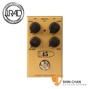 【美國製失真效果器】【J.RAD .45 Caliber】【美國手工品牌】 【JTM45】【J.Rockett Audio Designs】