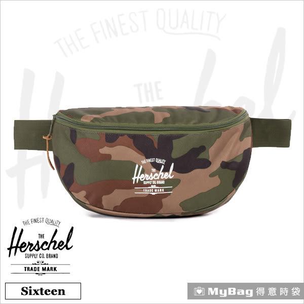 Herschel 腰包 綠迷彩 單肩側背包 Sixteen-032 得意時袋