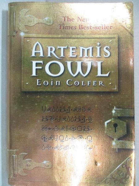 【書寶二手書T7/少年童書_GV8】Artemis Fowl_Colfer, Eoin