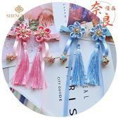 兒童旗袍頭飾復古中國風髮夾髮帶頭花過年新年配飾【奈良優品】
