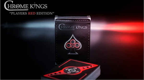 【USPCC 撲克】Chrome Kings Limited Edition Playing Card