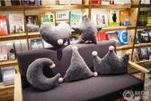 韓國ins皇冠汽車沙發抱枕床頭靠枕辦公室臥室客廳少女心北歐      東川崎町
