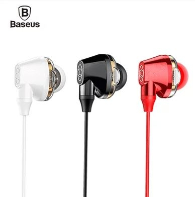 【唐吉】Baseus倍思 H10 Encok雙動圈線控耳機