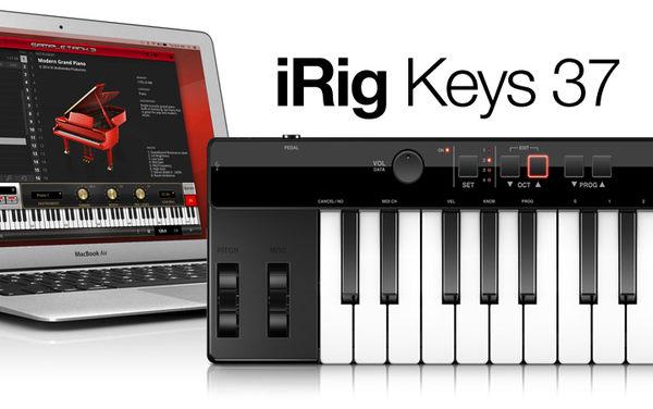 凱傑樂器 IK iRig37 mini-key USB controller(海國原廠540天保固)