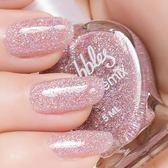 指甲油 水性裸色指甲油 可剝健康持久可撕拉亮片美甲