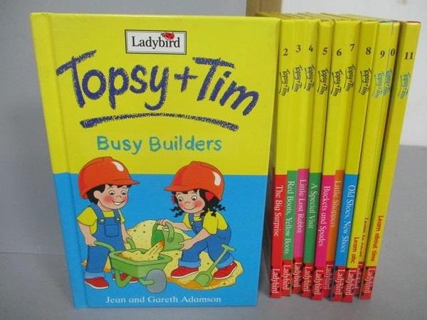 【書寶二手書T1/語言學習_NSW】Topsy+Tim-Busy Builders_The Big Surprise等_共11本合售_Ladybird