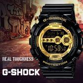 【人文行旅】G-SHOCK   GD-100GB-1DR 限量黑金 CASIO 卡西歐 手錶
