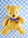 【震撼精品百貨】日本精品百貨~絨毛玩偶-熊絨毛-米藍