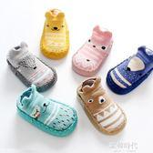 嬰兒地板襪防滑底襪套0兒童軟底學步襪子1寶寶室內鞋襪3歲 歐韓時代