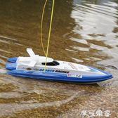 快艇高速艇軍艦成人航模型輪船水上摩托艇小船遙控船玩具電動超大 igo摩可美家