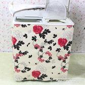 加厚防水防曬雙缸洗衣機罩雙筒半自動雙杠洗衣機罩套通用款『韓女王』