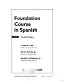 二手書博民逛書店 《Foundation Course in Spanish》 R2Y ISBN:039586867X