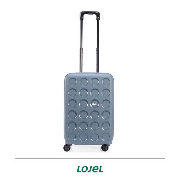 CROWN皇冠 LOJEL VITA PP材質拉鍊 登機箱/旅行箱 19.5吋-鋼藍色