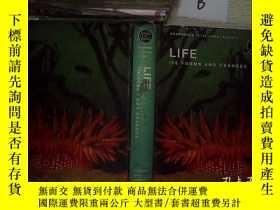 二手書博民逛書店LIFE罕見ITS FORMS AND CHANGES 生命的形