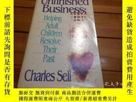 二手書博民逛書店UNFINISHED罕見BUSINESS: HELPING AD