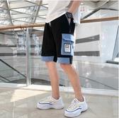 短褲 夏季工裝褲男多口袋休閒短褲國潮ins五分褲寬鬆立體袋潮牌港風褲