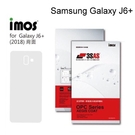 【iMos】3SAS系列保護貼 Samsung Galaxy J6+/J6 Plus (6吋) 背面 超潑水、防污、抗刮