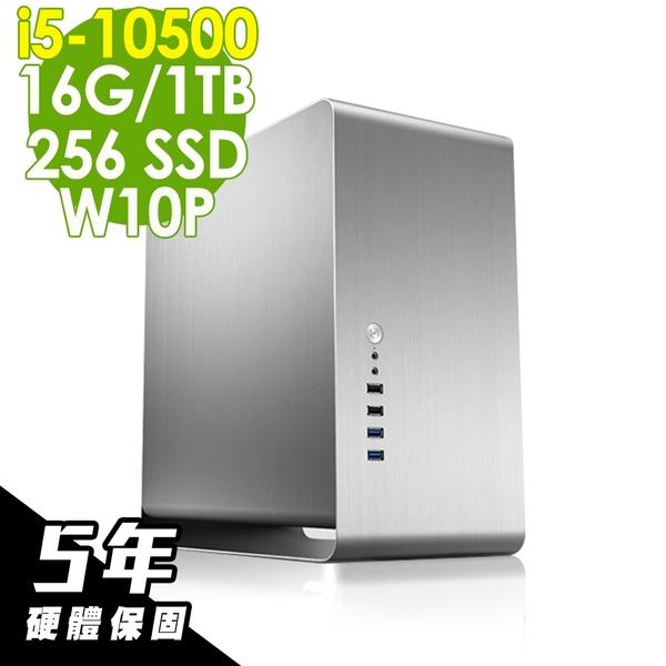 iStyle 雙碟商用電腦 i5-10500/16G/256SSD+1TB/W10P/五年保固