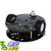 [107玉山最低比價網] 3pi智慧車套件ArduinoDIY尋線避障遙控藍牙wifi小車底盤N20機器人