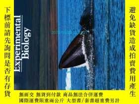 二手書博民逛書店The罕見Journal of Experimental Biology 2012 11 生物學學術論文Y14