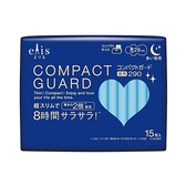日本大王elis愛麗思 COMPACT GUARD GO可愛夜用超薄29cm(15片/包)x1
