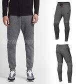 Nike 長褲 NSW Tech Fleece Jogger 灰 黑 縮口褲 男款 運動褲 【PUMP306】 805163-091