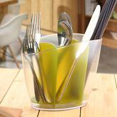 筷子籠簡約家用筷子筒塑料叉勺子架創意廚房筷子籠餐具桶筷桶瀝水筷子盒