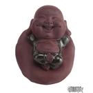 博翼手工紫砂茶寵茶玩擺件 功夫茶具可養小和尚 個性家用茶道配件   【全館免運】