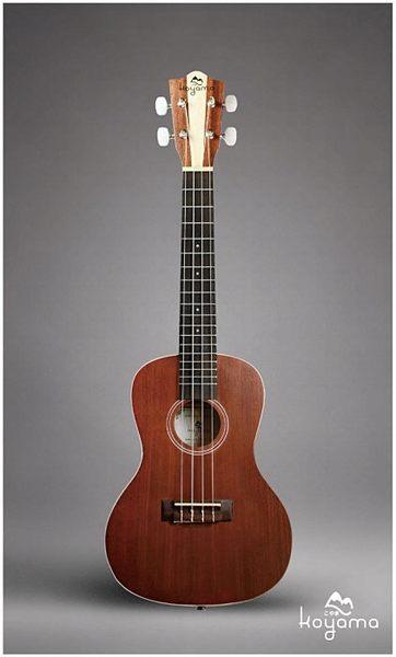 【非凡樂器】KOYAMA KYM-C12 經典雙色原木琴頭23吋烏克麗麗 / 贈琴袋.吊帶.調音器.指法表 / 公司貨