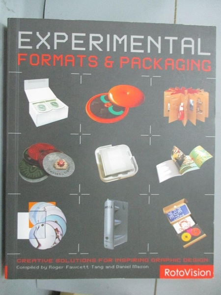 【書寶二手書T7/設計_XCR】Experimental Formats & Packaging: Creati