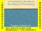 二手書博民逛書店The罕見Neoplatonic Metaphysics And Epistemology Of Anselm O