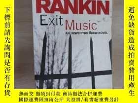 二手書博民逛書店LAN罕見RANKIN Exit Music 詳見圖片Y1596