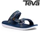 TEVA 超輕量舒適寬版織帶健走涼鞋 TERRA-FLOAT - 海軍藍