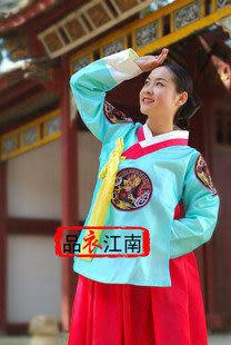 分體經典款傳統韓服/朝鮮族服飾攝影