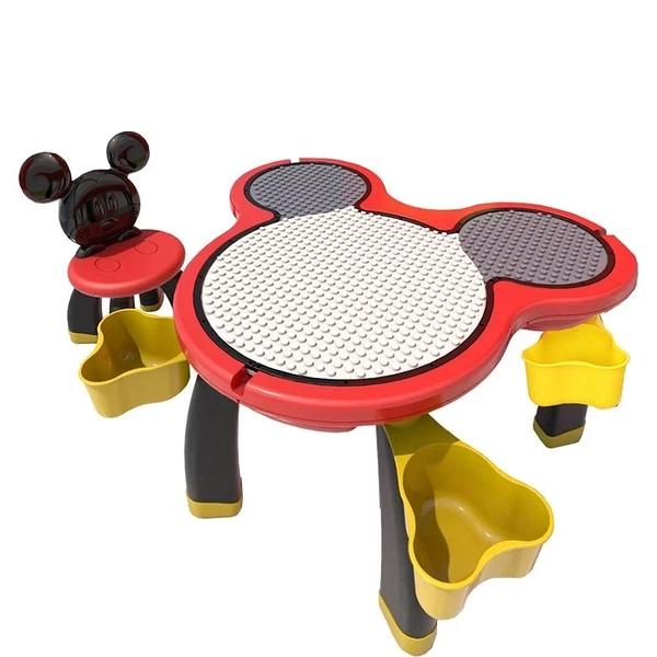 【愛吾兒】迪士尼兒童遊戲桌(一桌一椅)-(經典紅)