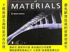 二手書博民逛書店Mechanics罕見of Materials, SI Edit