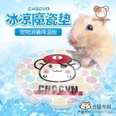 倉鼠降溫用品夏天夏季散熱板消暑寵物冰墊兔子夏日涼板大理石