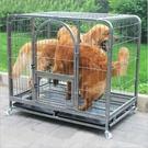 寵物籠 方管狗籠子 金毛 薩摩狗籠 泰迪博美小中大型犬寵物籠子寵物籠具