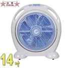 雙星14吋手提涼風箱型扇 TS-1466~台灣製