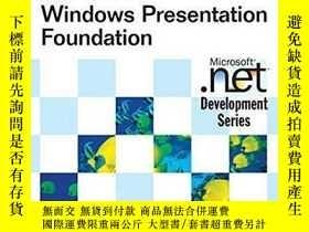 二手書博民逛書店Essential罕見Windows Presentation Foundation (wpf) (microso