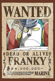 【拼圖總動員 PUZZLE STORY】航海王新版懸賞單-弗朗基 日本進口拼圖/Ensky/海賊王 One Piece/150P/迷你
