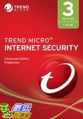 [8美國直購] 暢銷軟體 Trend Micro Internet Security 2019, 3 User [Key Code] 2019
