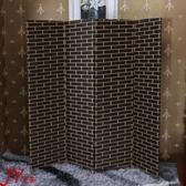 屏風隔斷客廳現代簡約 簡易折疊屏風玄關墻 中式實木移動酒店折屏