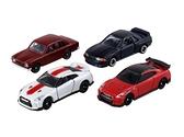 TOMICA GT-R 50週年車組TM39910 多美4D小汽車 公司貨