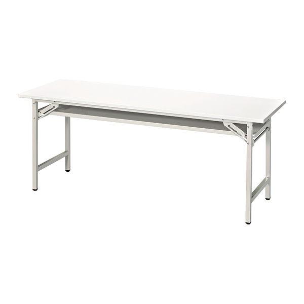 【森可家居】3尺折腳會議桌(直角/白面) 7JX280-4