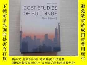 二手書博民逛書店COST罕見STUDIES OF BUILDINGS 建築成本研