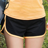 華歌爾-專業運動系列M-LL短褲(黑)LB539517BL