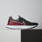 Nike React Infinity Run FK 男鞋 黑紅 襪套 輕量 透氣 避震 慢跑鞋 CD4371-014
