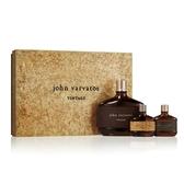 John Varvatos 工匠經典男性淡香水禮盒(125ml+隨身香氛15ml+工匠藤編15ml)