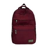 【南紡購物中心】J II 後背包-無限多隔層防潑水後背包-酒紅色-6377-7